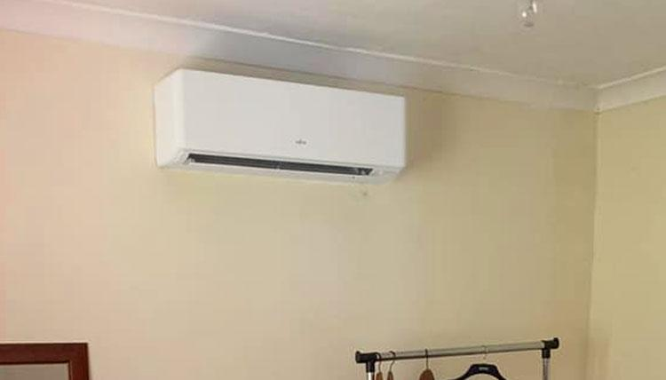 domestic air conditioning installation